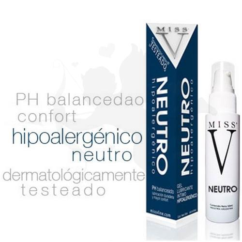 Gel lubricante neutro hipoalergénico 50 ml